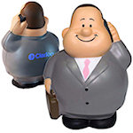 Business Man Stress Balls